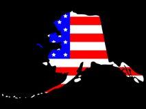 État de l'Alaska Images libres de droits