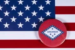 État de l'Arkansas aux Etats-Unis photographie stock