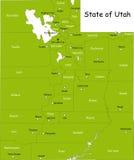 État de l'Utah Images stock