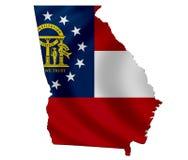 État de la Géorgie illustration stock