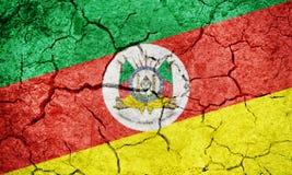 État de Rio Grande do Sul, état du Brésil, drapeau illustration libre de droits