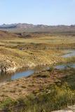 état de stationnement de lac d'alamo Arizona Images libres de droits