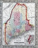 État du Maine Photos libres de droits