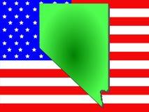 État du Nevada illustration libre de droits