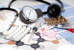 État médical Photos stock