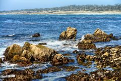 État Marine Reserve d'Asilomar Photo stock