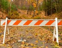 État ou parc national fermé Photographie stock
