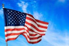 État uni par Etats-Unis de fond de drapeau de l'Amérique Images stock