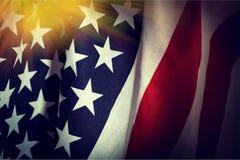 État uni par Etats-Unis de fond de drapeau de l'Amérique Images libres de droits
