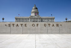 état Utah de capitol Image libre de droits