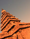 Étayer-temple Image libre de droits