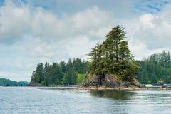 Étayez sur l'île de Vancouver photo libre de droits
