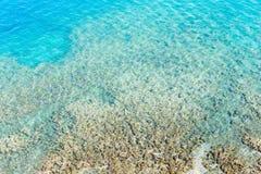 Étendue de l'eau dans le lac comme contexte photo stock