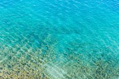 Étendue de l'eau dans le lac comme contexte photographie stock libre de droits