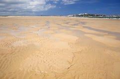 Étendue large du sable à l'EL Puntal image stock
