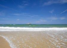 Étendue large du sable à l'EL Puntal photo libre de droits