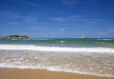 Étendue large du sable à l'EL Puntal photos libres de droits