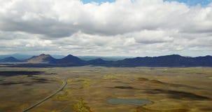 Étendues et paysage du nord banque de vidéos