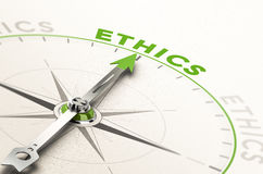 Éthique d'affaires illustration libre de droits