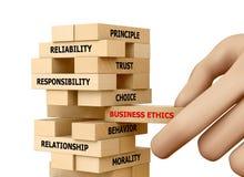 Éthique d'affaires Photos stock