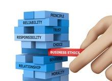 Éthique d'affaires Photos libres de droits