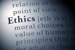Ética Foto de archivo libre de regalías