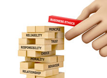 Ética empresarial Imagen de archivo