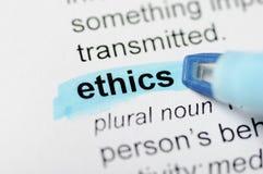 Éticas Imagem de Stock
