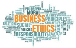 Éticas de negócio Imagens de Stock Royalty Free