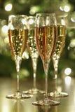 Étincelle de Champagne Photos libres de droits