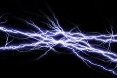 Étincelles électriques Photo stock
