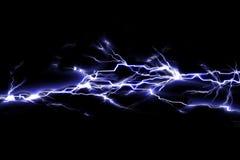 Étincelles électriques Photos stock