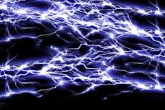 Étincelles électriques Photos libres de droits