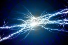 Étincelles électriques Image libre de droits
