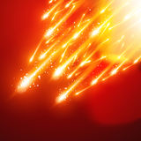 Étincelles brillantes Image stock