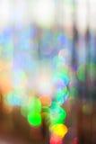 Étincelles colorées Photos libres de droits