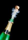 Étincelles de champagne Photographie stock libre de droits