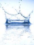 Étincelles de l'eau Image stock
