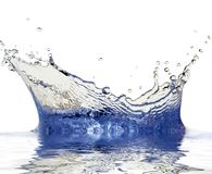Étincelles de l'eau Photos libres de droits