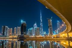 Étincelles de ville Photos libres de droits