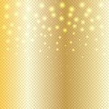 Étincelles lumineuses illustration de vecteur