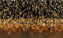 Étincelles rougeoyantes Photo stock