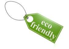 Étiquette écologique Photo stock