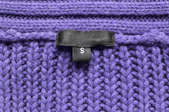 étiquette Photographie stock libre de droits