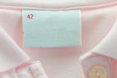 Étiquette blanc Images stock