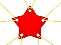 Étiquette d'étoile Image libre de droits
