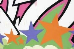 Étiquette d'étoile Image stock