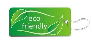 Étiquette d'Eco Photos libres de droits