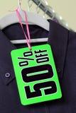 Étiquette d'escompte de vente Image stock