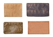 Étiquette d'habillement de label de jeans Image stock